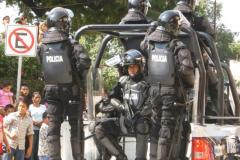 Ever Present Police and Military Presence