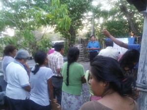 Jesus is preached in the open air. This again is where the rubber truly hits the road in rural Mexico and many other places around the world where the gospel is proclaimed.