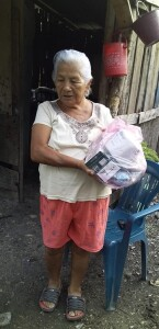 The elderly poor are also very vulnerable. The Hidden Manna ministry also sought to care for their needs where possible.