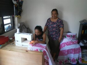 The sewing school/workshop is a tremendous blessing to many women and young girls. Here they are ministered to spiritually as well as receiving training in a practical trade.