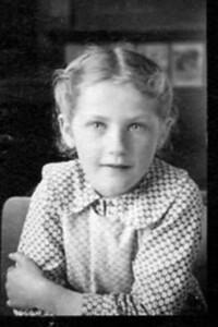 My mother, Lydian circa 1936