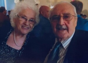 My mom and dad; loved by so many. My father is now in Glory.