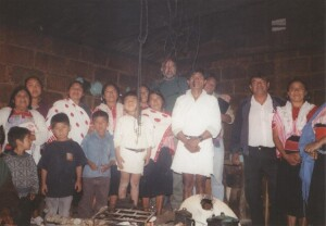 Ministering among the tribal people in Chiapas, Mexico circa 2001