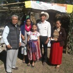 Ministering to Pame villagers