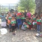 Working with Pame children in Milpas Viejas