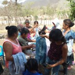 God provided us with some clothing and shoes which we were able to distribute to the children and adults in these needy communities. To God be the glory for his provision