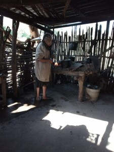 This is the first sister who opened her heart and received the Word into her soul in el Coco